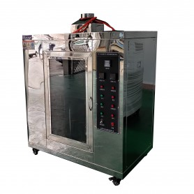 Medical mask flame retardant tester