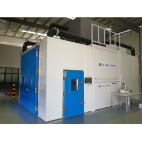 Vehicle VOC emission environmental chamber