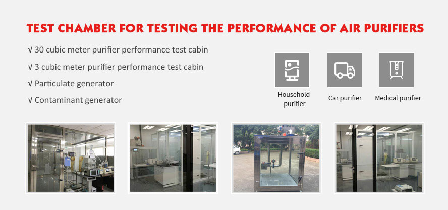 Performance Testing of Air Purification Products